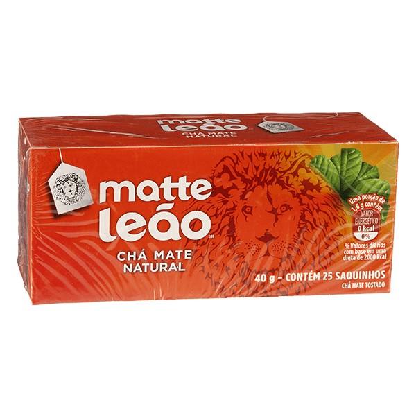 Matte Leão Chá Mate Natural 25 saquinhos