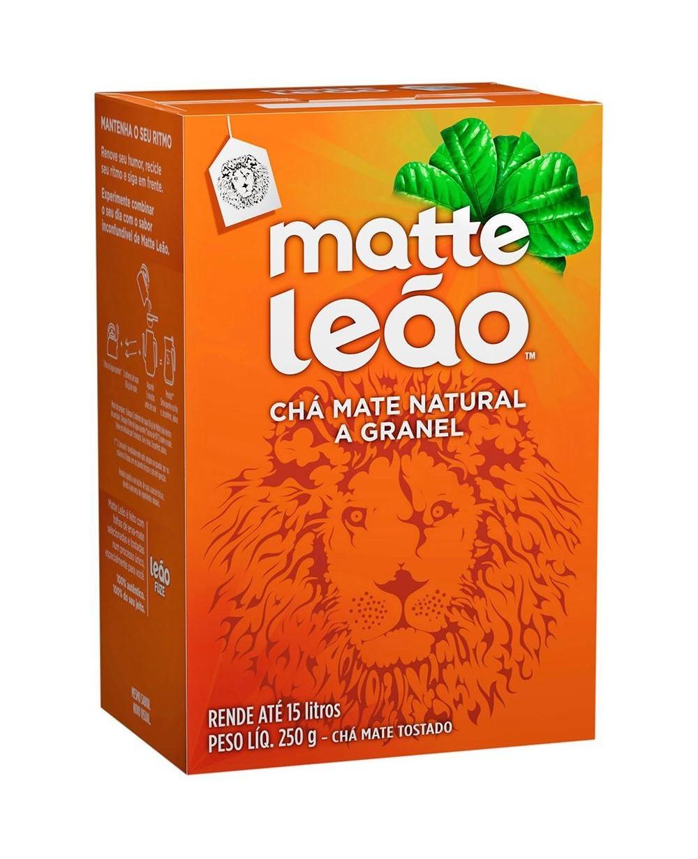 Cha Mate Natural Matte Leao A Granel 250 g