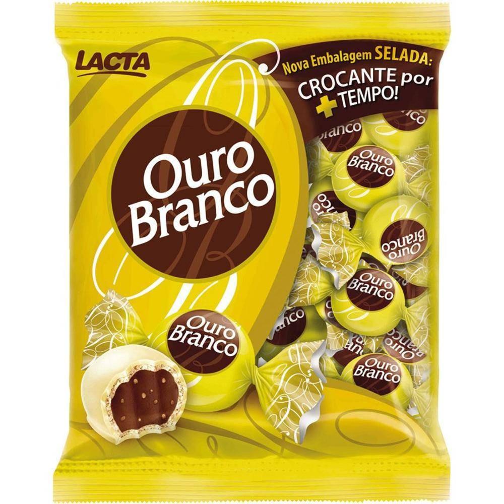 BOMBOM OURO BRANCO