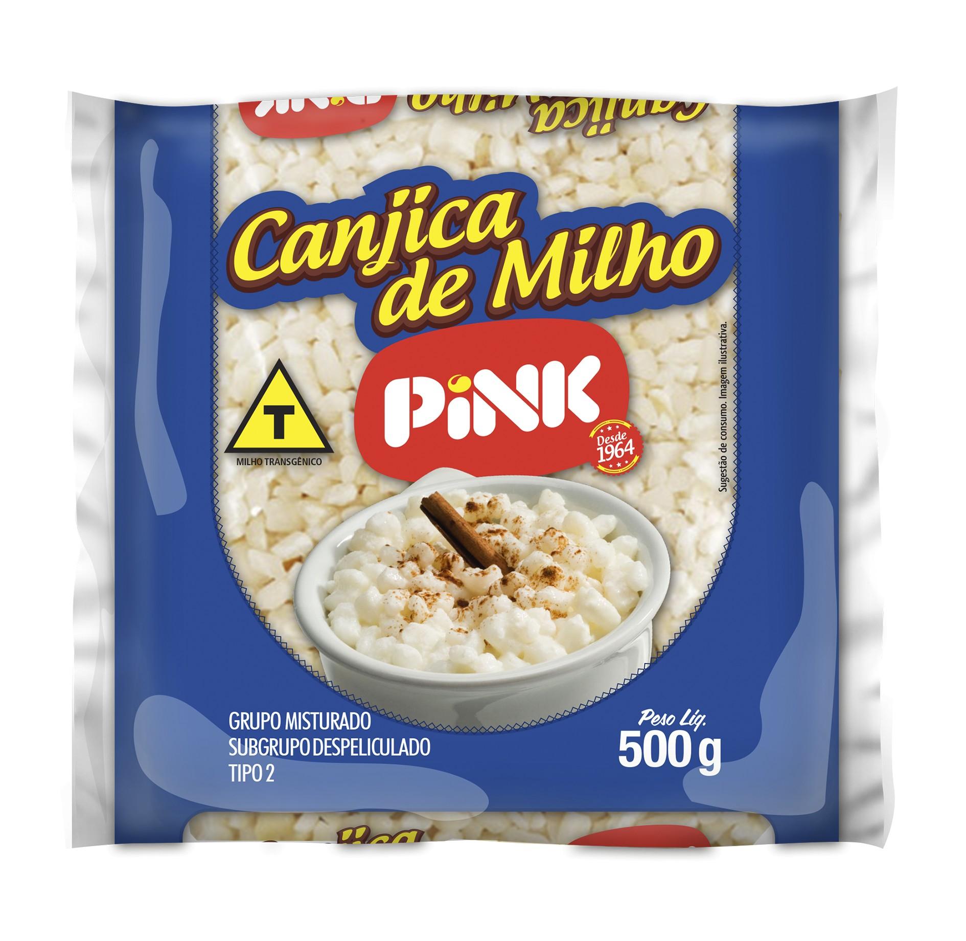 CANJICA BRANCA  PINCK 500G