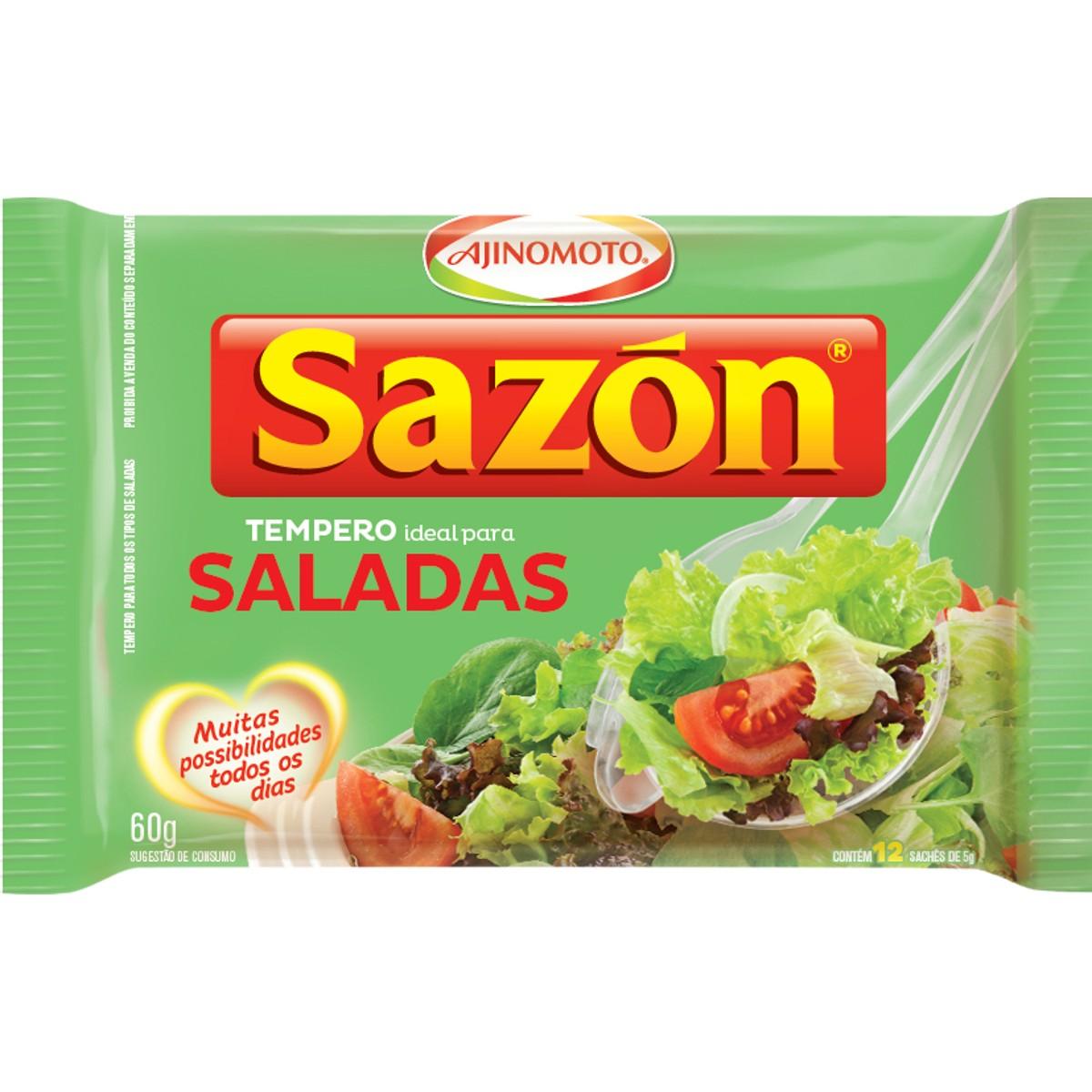 Tempero para Saladas SAZON 60g
