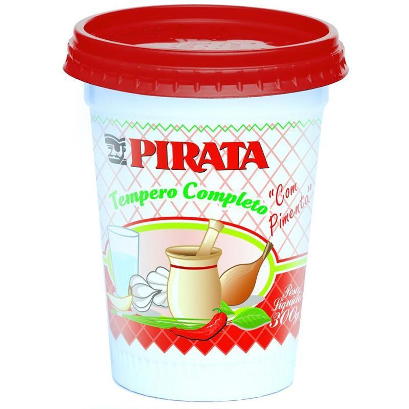 Tempero Pirata Completo Com Pimenta Pote 300 g