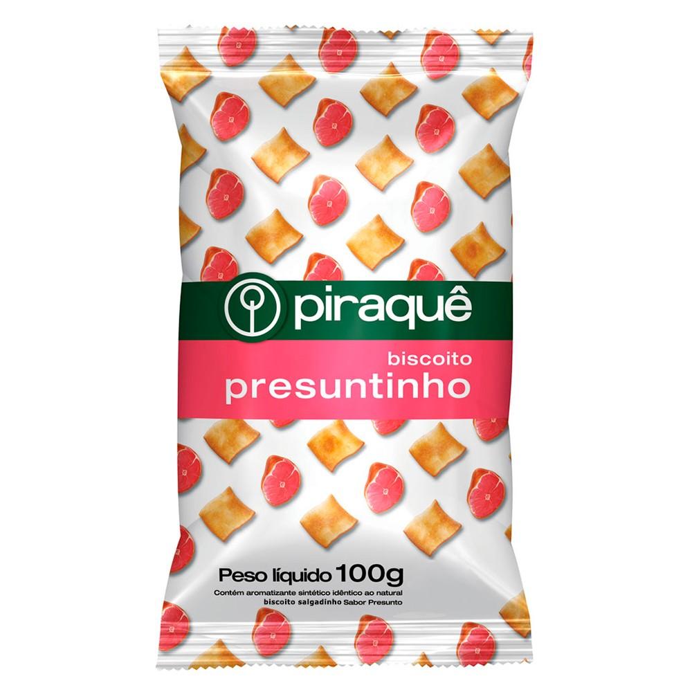 Biscoito Piraquê Presuntinho com 100g
