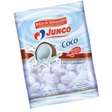 Bala de Coco Junco Embalagem 100G