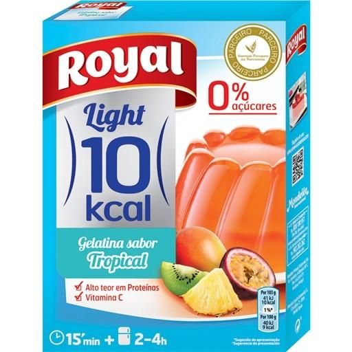 Gelatina Pó FrutosTropicais 10 Kcal