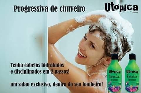 UTOPICA KERALISS PROGRESSIVA DE CHUVEIRO