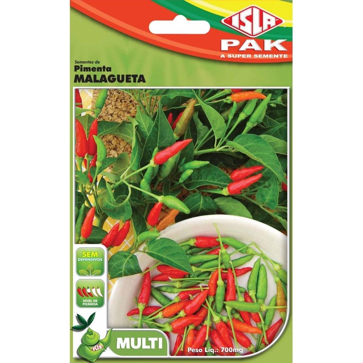 Sementes de Pimenta Malagueta