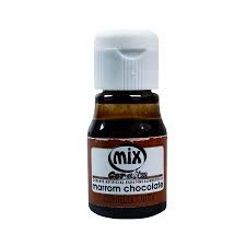 Corante Liquido Marrom Chocolate 10ML MIX