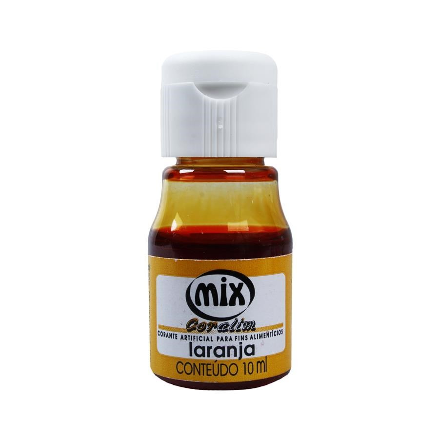 Corante Liquido Laranja 10ML MIX