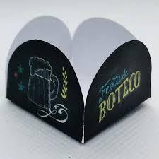 forminhas de doces festa tema Boteco 2 cerveja 50 und
