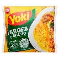 Farofa de Milho Pronta YOKI Pacote 500g