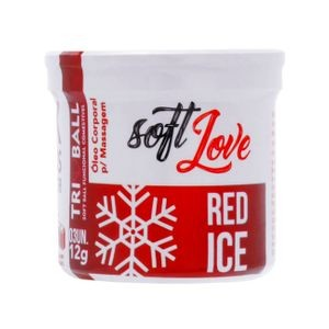 SOFT BALL RED ICE TRI BALL