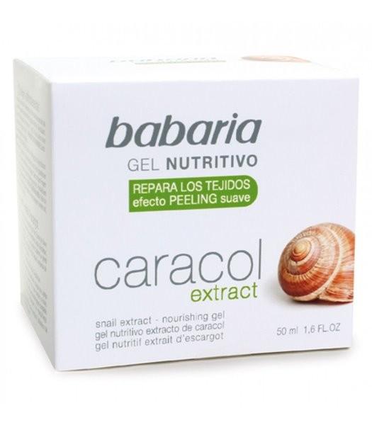 Gel Facial Nutritivo Extrato Caracol 50ml Babaria