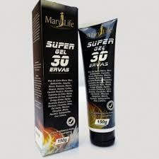 Super Gel 30 Ervas 150gr