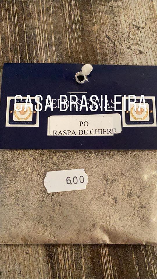 RASPA DE CHIFRE