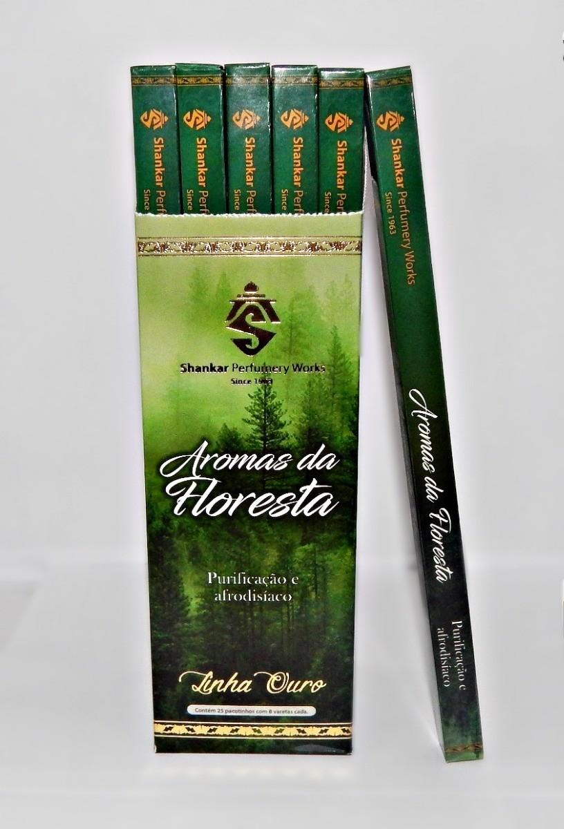 Incenso  Aromas Da Floresta