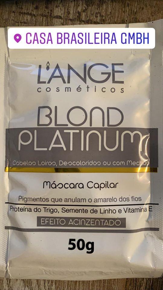L'ANGE MÁSCARA BLOND PLATINUM