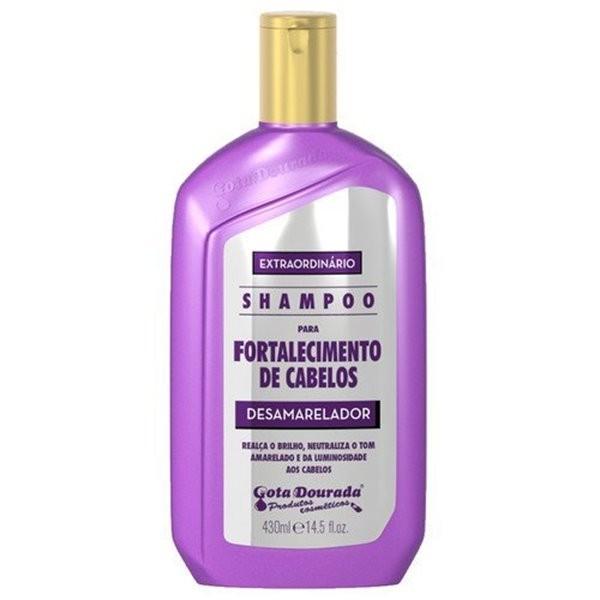 Gota Dourada Shampoo Desamarelador 430ml