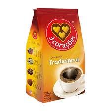 Café 3 CORAÇÕES Tradicional Almofada 250g