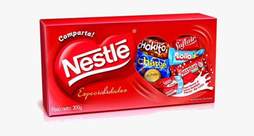 Caixa de Bombom Sortido Nestlé Especialidades 300g