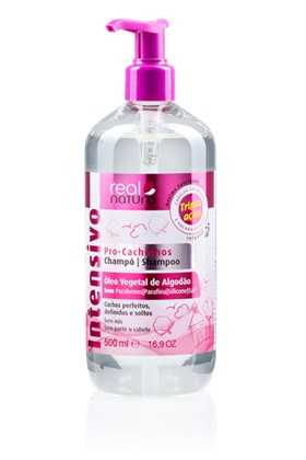 Real Natura Shampoo Cachinhos 500ML