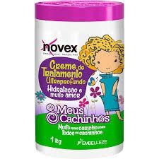 Creme Infantil Novex Meus Cachinhos Tratamento 1000g