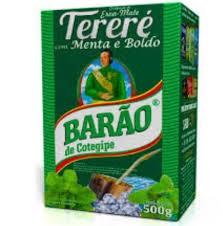 Erva-Mate Tereré Barão Menta & Limão Extra Forte