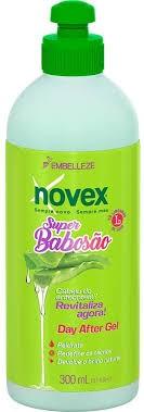 Gel Novex Super Babosão Day After 300ML