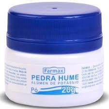 Pedra Hume 20g Farmax