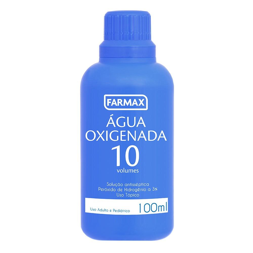 Água Oxigenada Líquida Farmax 10 Volumes