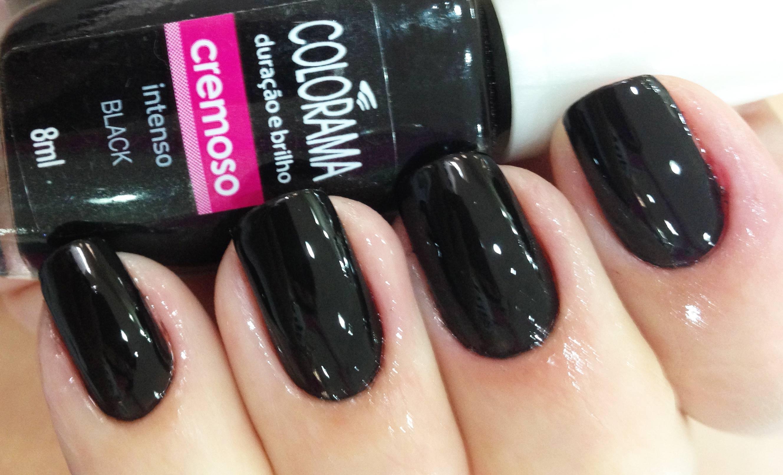 Esmalte Colorama Cremoso Black