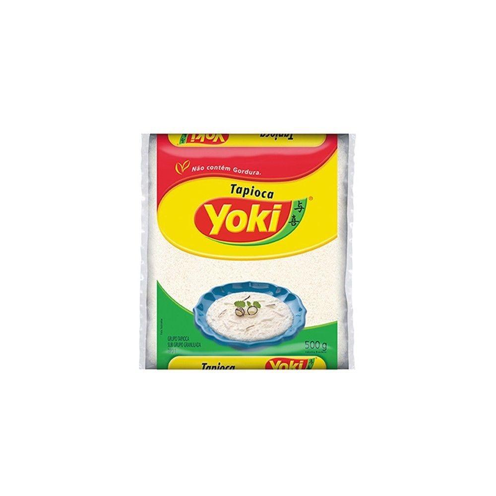 Tapioca Granulada para Bolo Yoki 500g