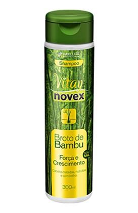 Novex Shampoo Broto de Bambu sem Sal