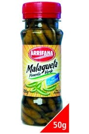 Pimenta Malagueta Verde 50 g
