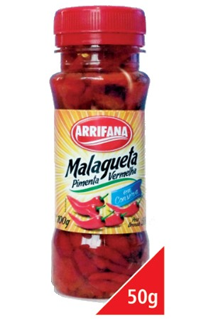 Pimenta Malagueta Vermelha Arrifana 50 gr