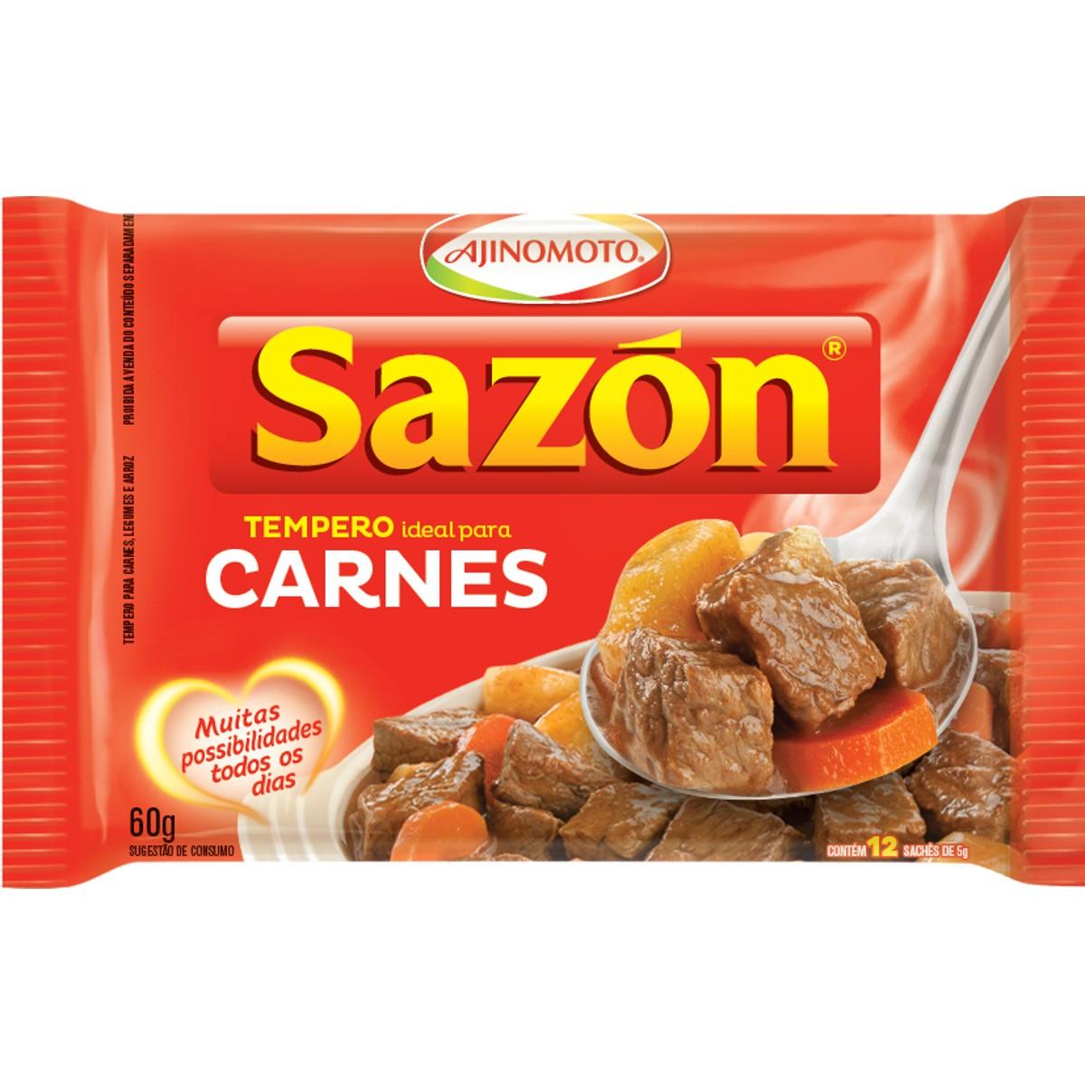 Tempero para Carnes SAZON 60g