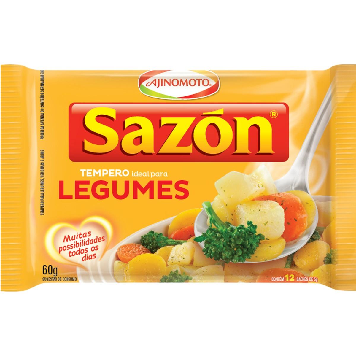 Tempero para Legumes SAZON 60g
