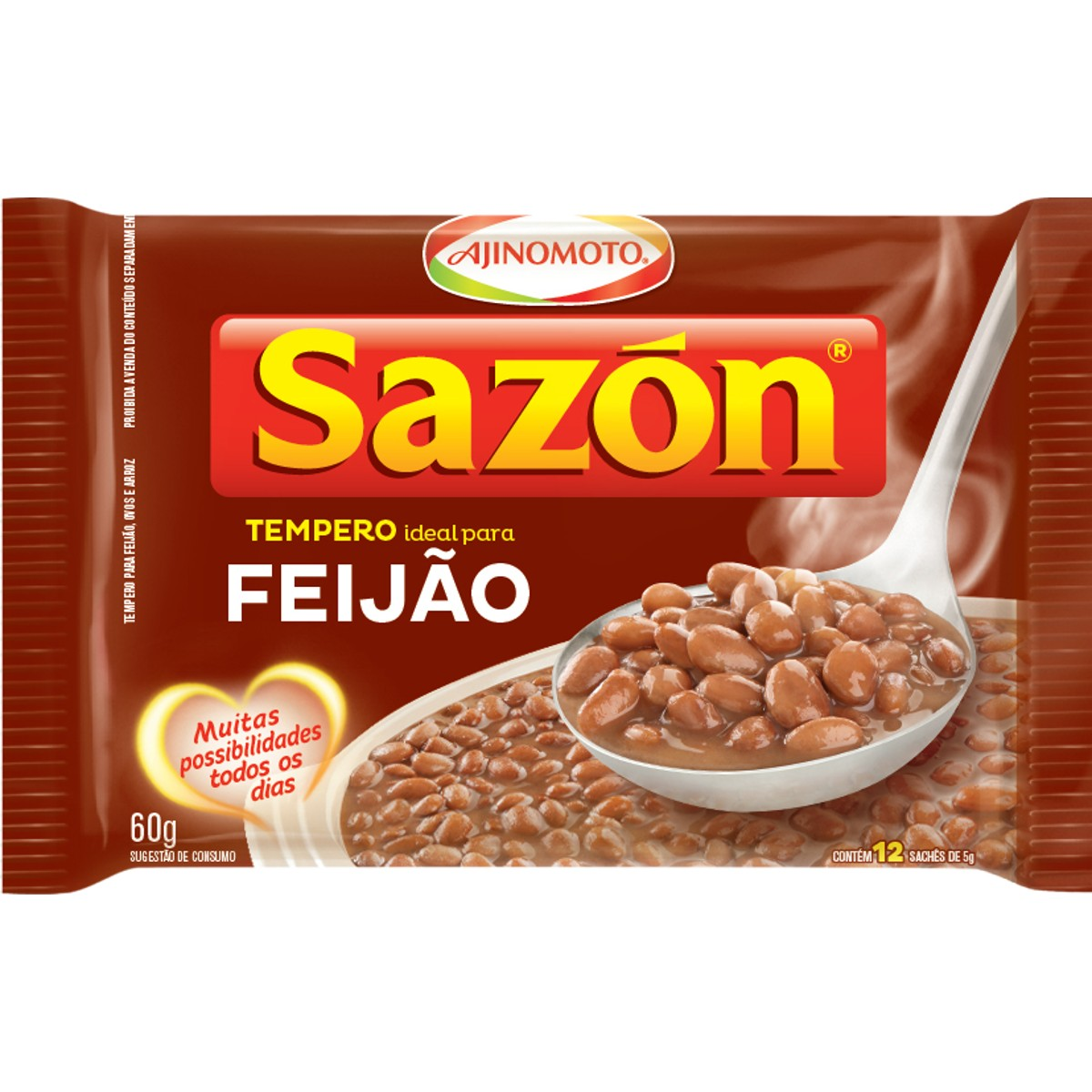 Tempero para Feijão SAZON 60g