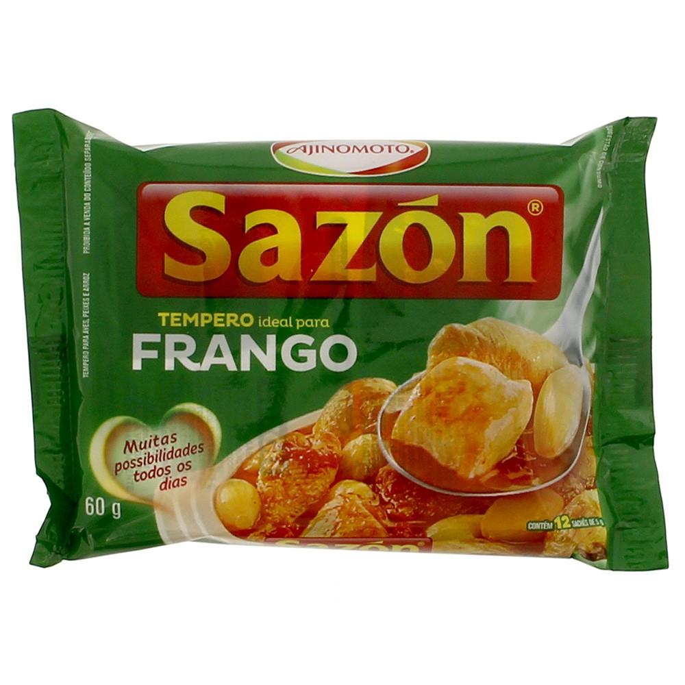 Tempero para Frango Sazón 60g