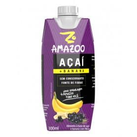 Açai Amazoo Banana 300 ml Br