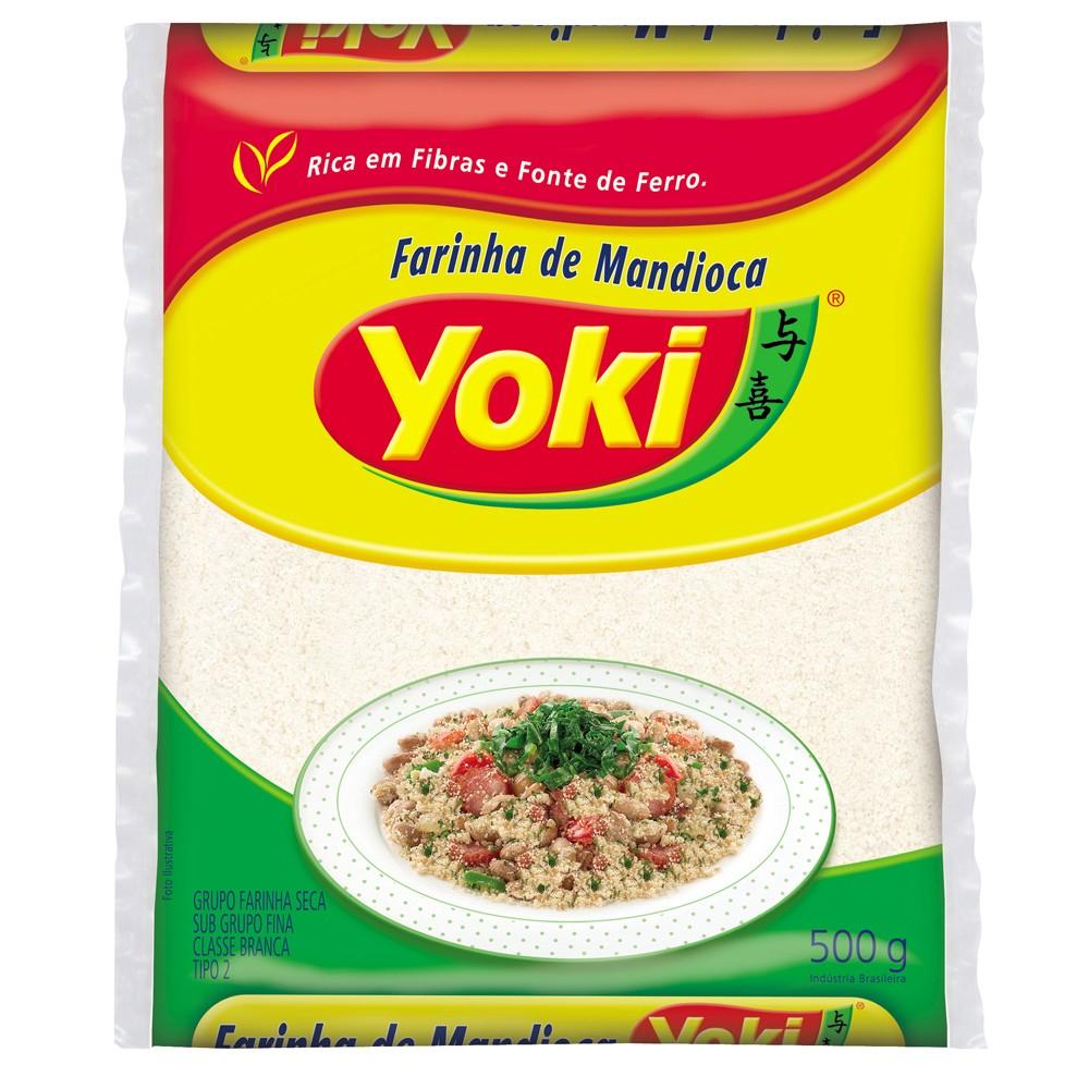 Farinha de Mandioca crua fina Yoki 500g