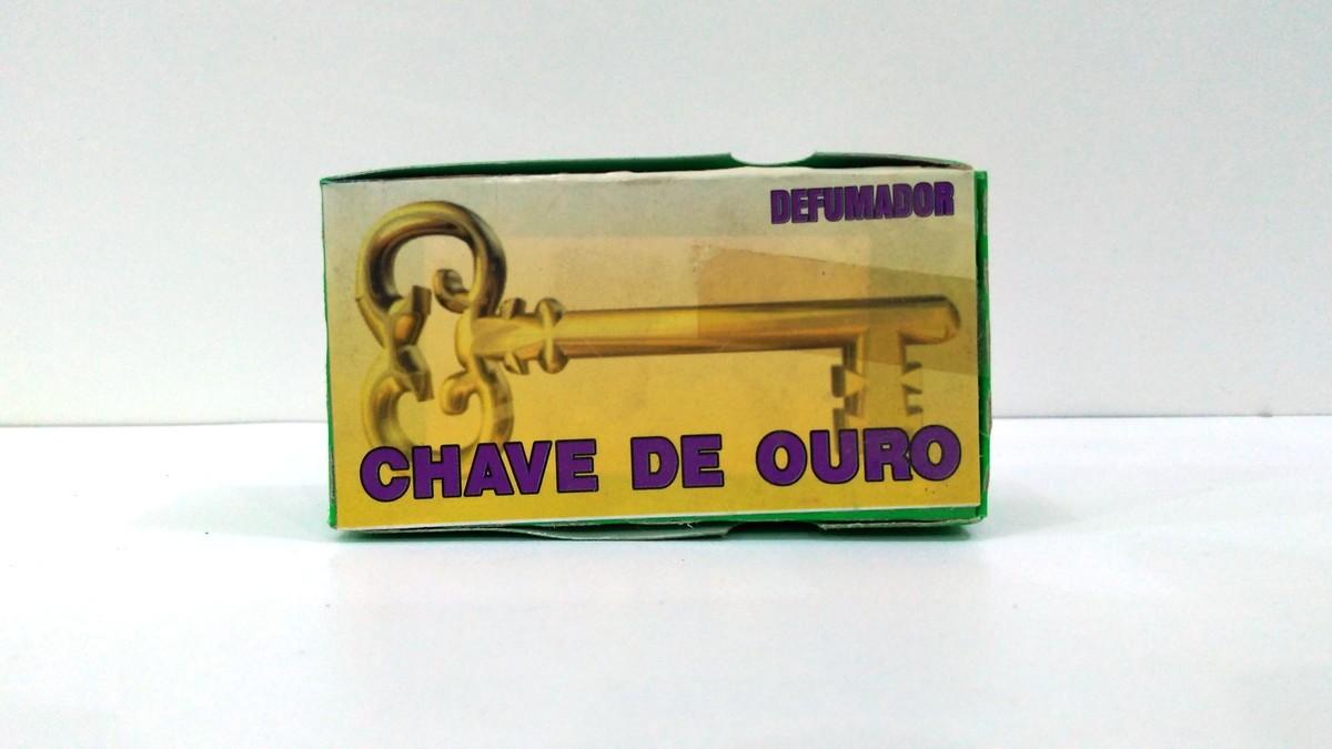 Defumador Chave de Ouro