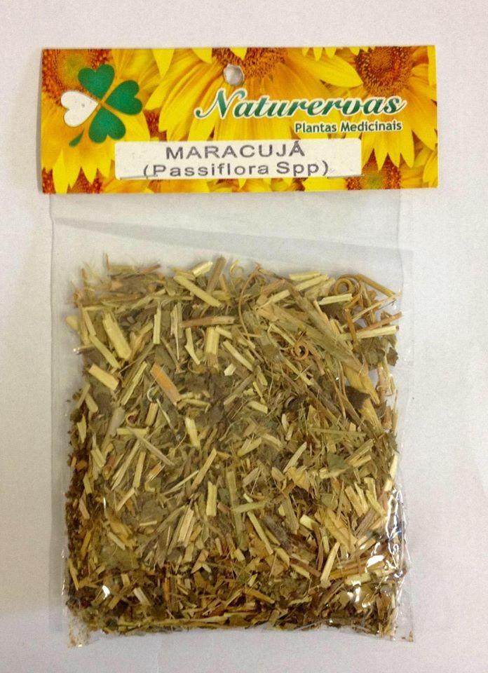 Chá das folhas de maracujá