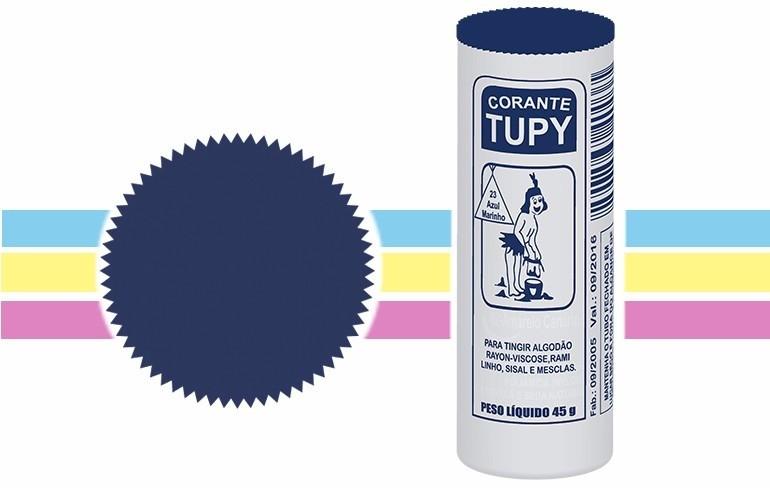 Corante Para Roupas Tupy Azul Marinho