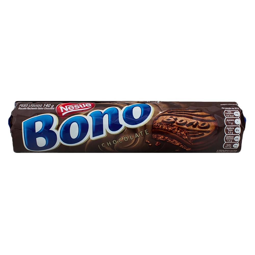 Biscoito Bono Chocolate 140g Néstle