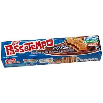Bolacha Passatempo Recheado Chocolate