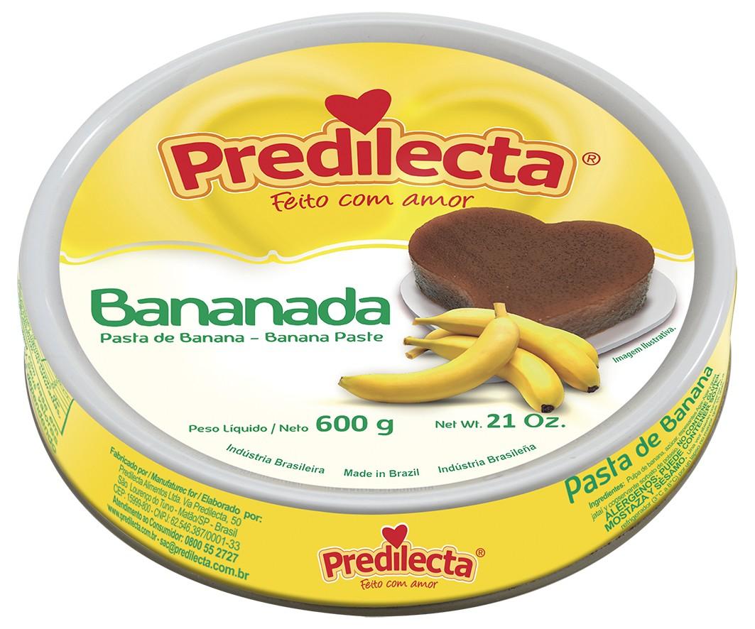 Bananada Predilecta 600g Lata