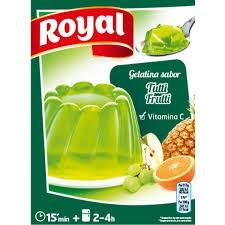 Gelatina Royal Tutti frutti  2 X 85g Portugal