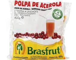 Polpa de fruta acerola Brasfrut