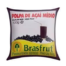 Polpa de fruta acai Brasfrut